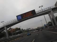 El Ayuntamiento de Madrid recomienda conducir a menos de 70 por la M-30