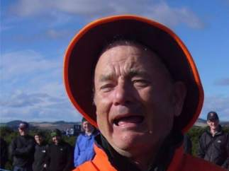 ¿Quién sale en la foto: Bill Murray o Tom Hanks?