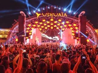 El club Ushuaïa, de Ibiza