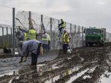 Nueva valla antimigrantes en Hungria