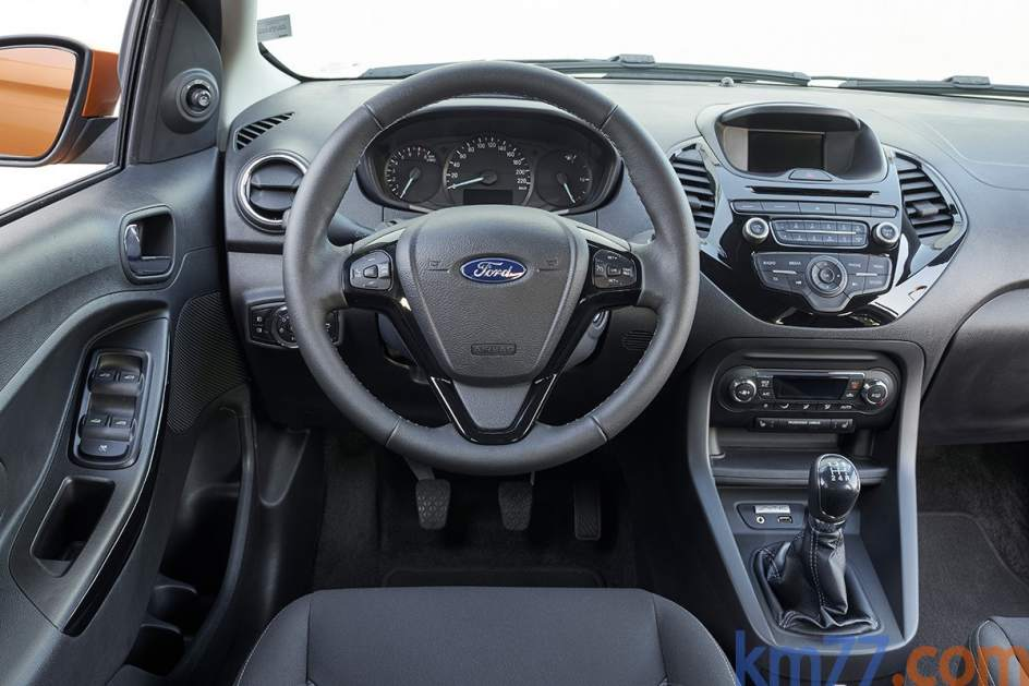 Aspecto interior del Ford KA+