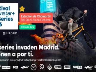 Cartel Festival Movistar+ de Series 2016