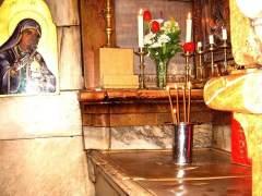 La losa de la tumba de Jesucristo, retirada por primera vez