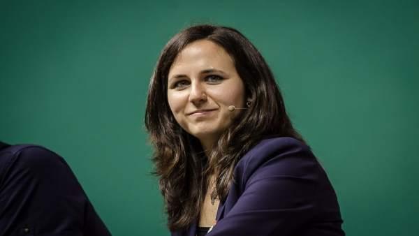 Ione Belarra, diputada de Unidos Podemos