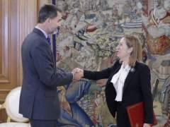 Felipe VI y Ana Pastor