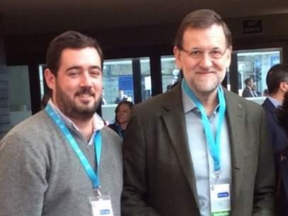 Nacho Toca, presidente de las NNGG del PP de Vizcaya