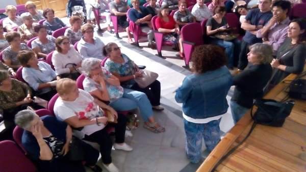 Actividad del programa de Diputación de Huelva 'Cine para cambiar el mundo'