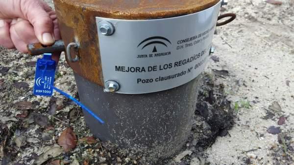 Clausura de pozos en la cuenca Tinto-Odiel-Piedras
