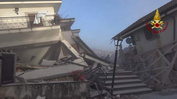 Casas destruidas