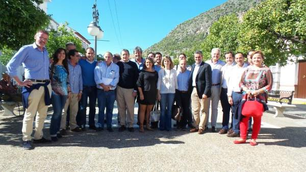 Reunión del PP en la Sierra de Cádiz