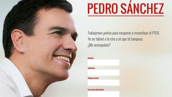 Campaña de Pedro Sánchez