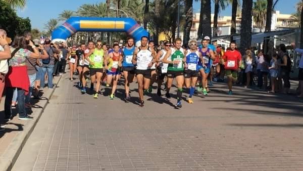 I Running Course 10 Km Palma Beach