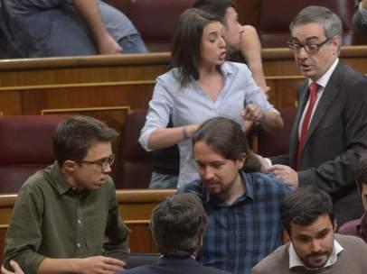Encontronazo entre Podemos y Ciudadanos