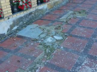 El PSOE critica el estado del cementerio de San Fernando de Jaén