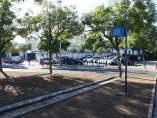Inmediaciones del cementerio de San Fernando de Sevilla