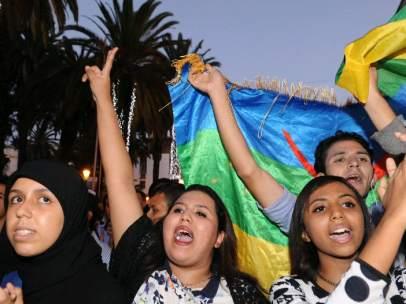 Protestas en Marruecos por la muerte de un pescador