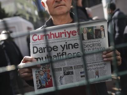 Nuevas detenciones de periodistas en Turquía
