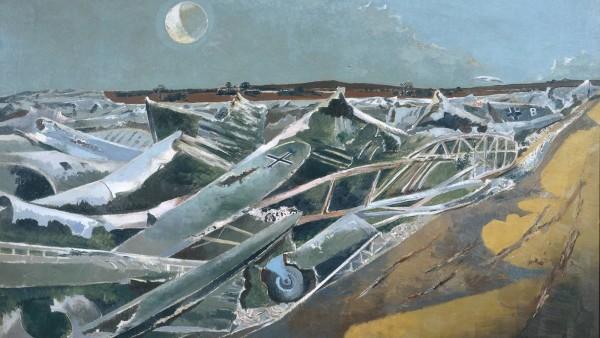 Paul Nash - Totes Meer, 1940-1941