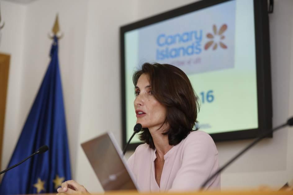 Mariate Lorenzo afirma que Canarias cierra 2016 con más de 13 millones de pasajeros extranjeros