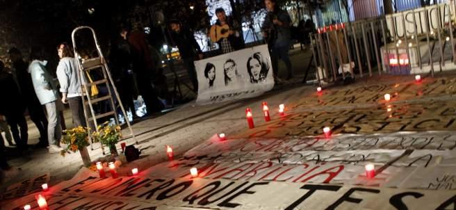 Vigilia en recuerdo de las cinco víctimas del Madrid Arena