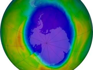 Agujero de ozono en 2016