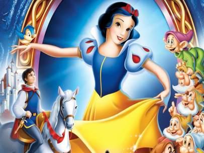 Imagen promocional de 'Blancanieves y los siete enanitos' de 1937