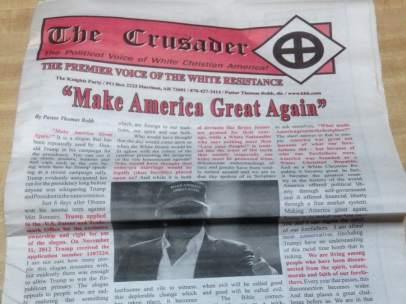 The Crusader, periódico del Ku Klux Klan