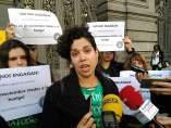 La secretaria general del Sindicato de Estudiantes, Ana García