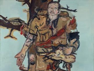 Georg Baselitz, Versperrter Maler, 1965