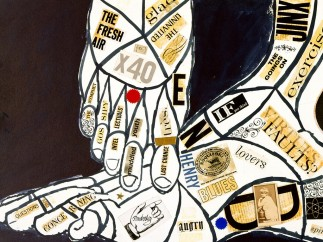 Andy Warhol, Feet, ca. 1959
