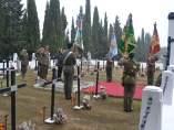 Homenajea a los caídos por España