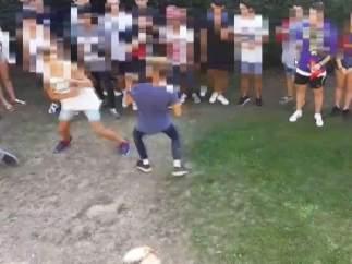 Peleas de adolescente con decenas de expectadores causan alerta en Lugo