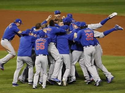 Los Cubs ganan las series mundiales