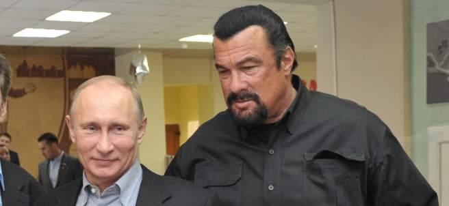 Putin y Steven Seagal