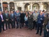 Concentración en Burgos por el asesinato de Yolanda Pascual.