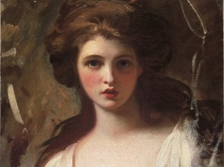 Emma as Circe by George Romney c.1782