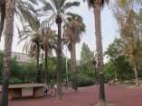 Parque en Barcelona