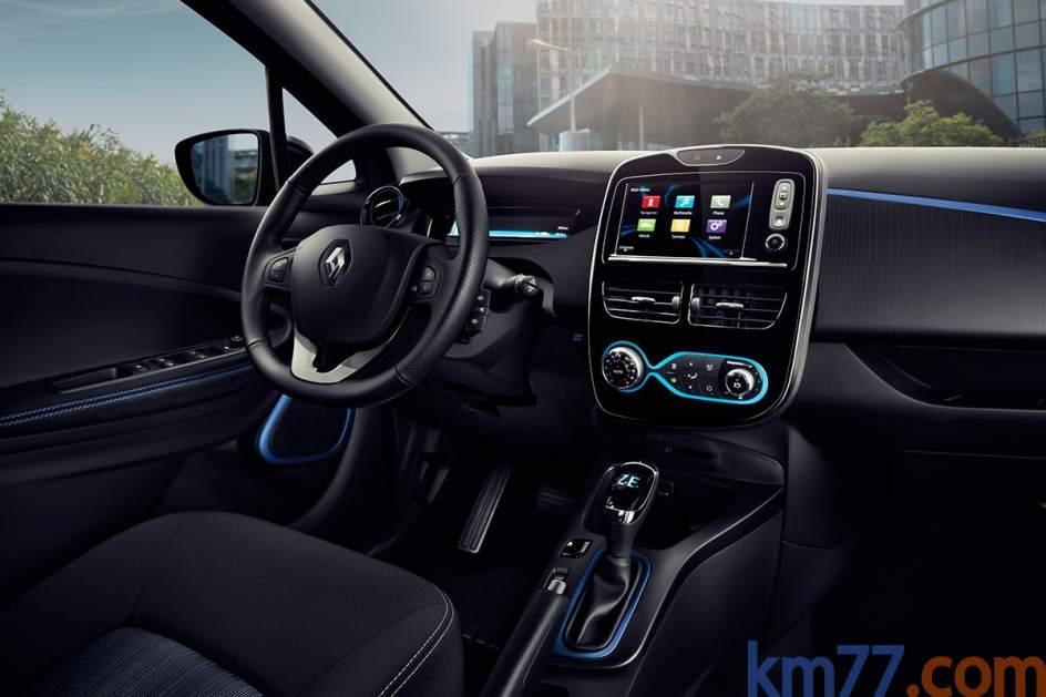 Aspecto interior del Renault ZOE
