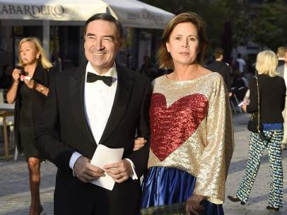 Pedro J. y Ágatha Ruiz de la Prada