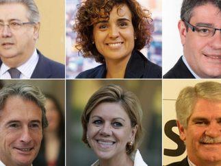 Las nuevas caras del Gobierno de Rajoy