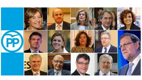 Nuevas caras Gobierno de Rajoy