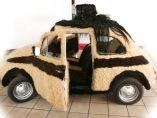 El coche con más pelo del mundo