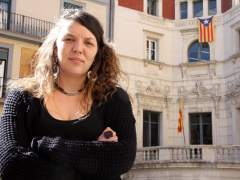 La alcaldesa de Berga, Montserrat Venturós.