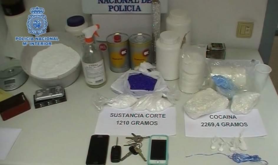 Desarticulado un grupo criminal especializado en el tr fico de estupefacientes - Jefatura trafico zaragoza ...