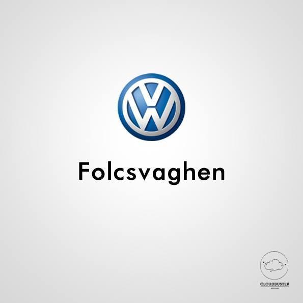 La marca Volkswagen, fonéticamente