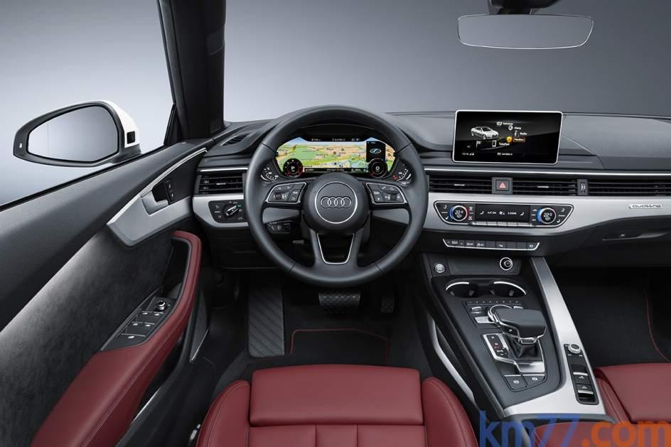 Aspecto interior del Audi A5 Cabrio