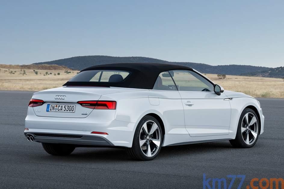 Audi A5 Cabrio con la capota puesta