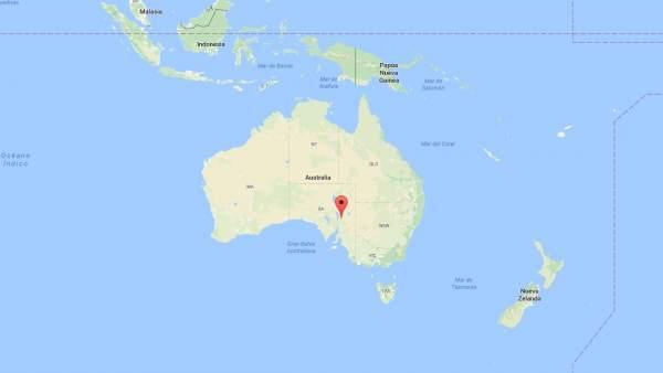 Sierra de Flinger, Australia