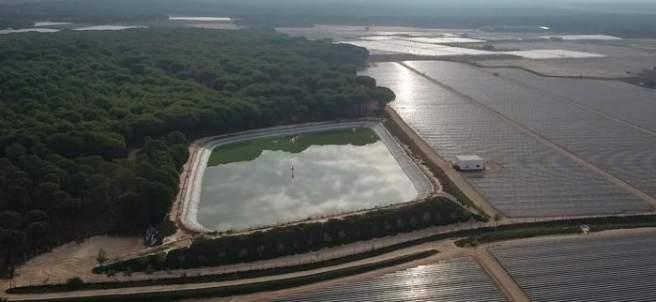 Los drones revelan cómo la agricultura ilegal seca Doñana
