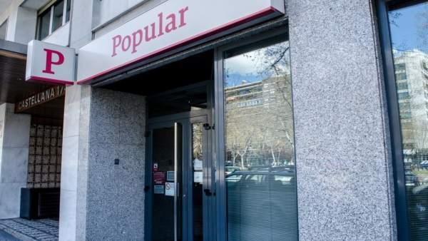 Sucursal, banco Popular